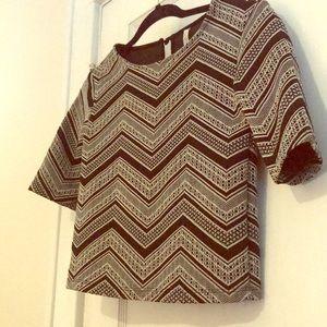 3 Quarter Length Sleeve Knit Shirt